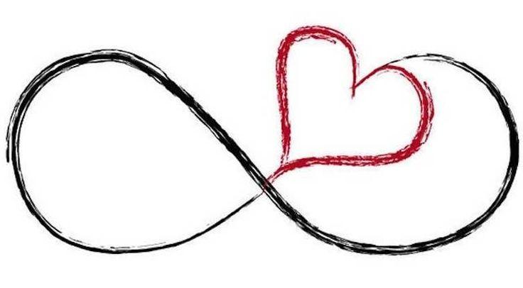 infinity heart tattoo simple infinity heart tattoo. Black Bedroom Furniture Sets. Home Design Ideas