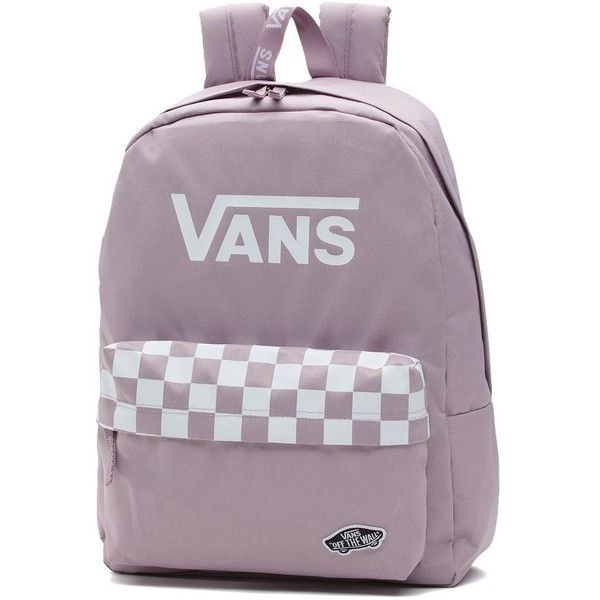 Vans Sporty Realm Backpack (275 HRK) ❤ liked on Polyvore featuring bags, backpacks, day pack backpack, vans rucksack, knapsack bag, vans backpacks and rucksack bags