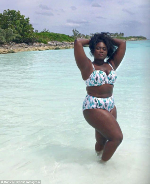 Proud: Danielle Brooks talked to People about loving her body no matter what; here she is ...