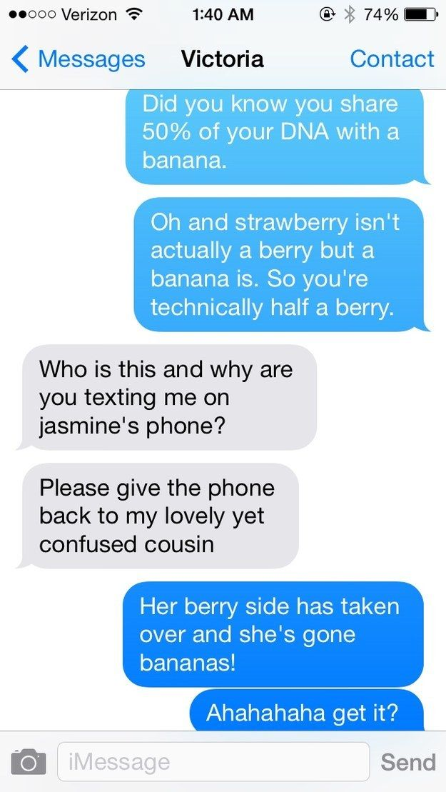"Only thing missing is an ""orange you glad"" kicker. 