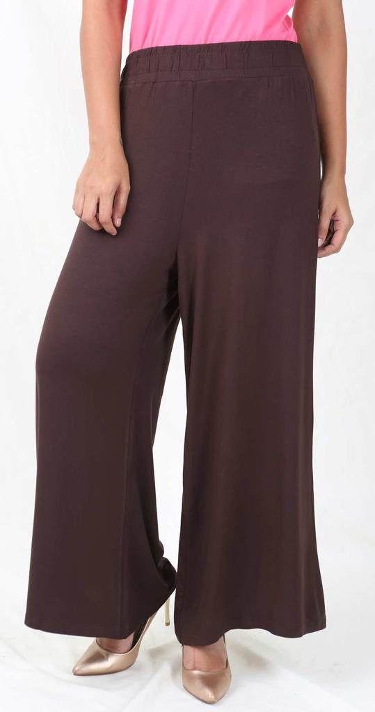 De Moza Ladies Palazzo Viscose Lycra Brown  #indianblogger #fashionbloggers #legging #skirts #printedlegging #jegging #womensfahion #bloggers #freeshipping #shimmerlegging