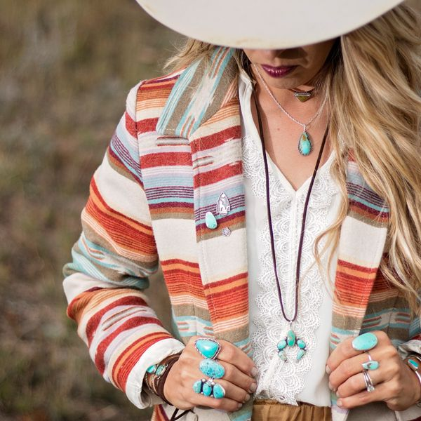 Prairie Sky Jewelry Co Wows With This Winter Wonderland Photo Shoot - COWGIRL Magazine