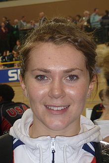 Jess Varnish, Olympic Cyclist 2012 - daughter of Jim Varnish from Wolverhampton - 1985 Cycle Speedway World Champion