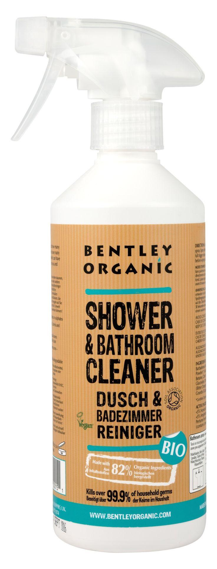 Deilig, frisk og naturlig spray til rengjøring på badet.    Vaskemiddelet er laget spesielt for å få bort flekker og smuss fra såper og generelt baderomsbruk. Har også antibakterielle egenskaper og etterladet badet rent og pent med en frisk duft av sitrus.