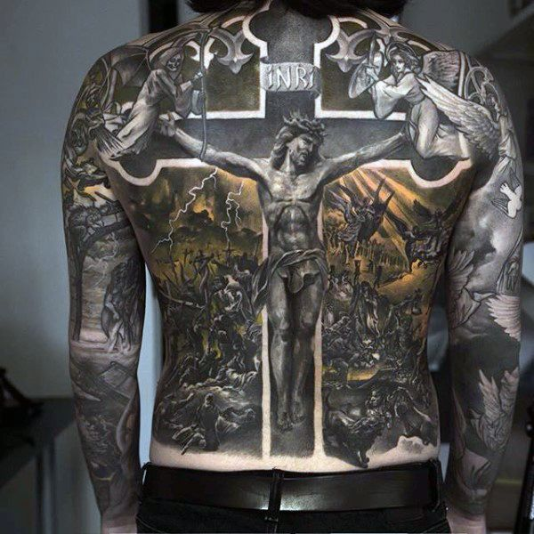1000+ ideas about Religious Tattoo Sleeves on Pinterest | Religious ...Spanish Cross Tattoo Designs