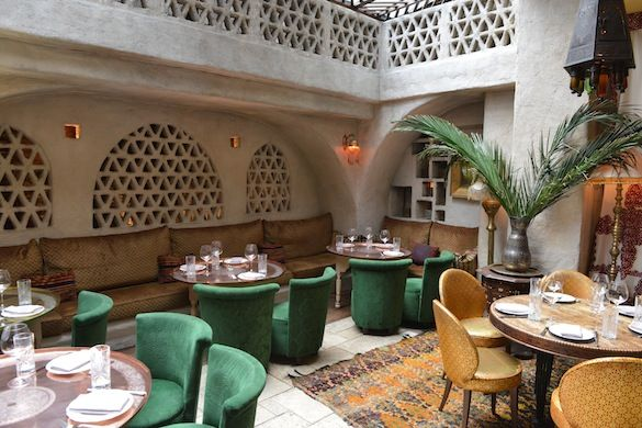 Momo | Comprising a restaurant, café, outdoor terrace and basement bar/disco, Momo has remained one of the coolest spots in London since opening in 1997. Famed for its couscous, Algerian-born restaurateur Mourad Mazouz serves all manner of African food.
