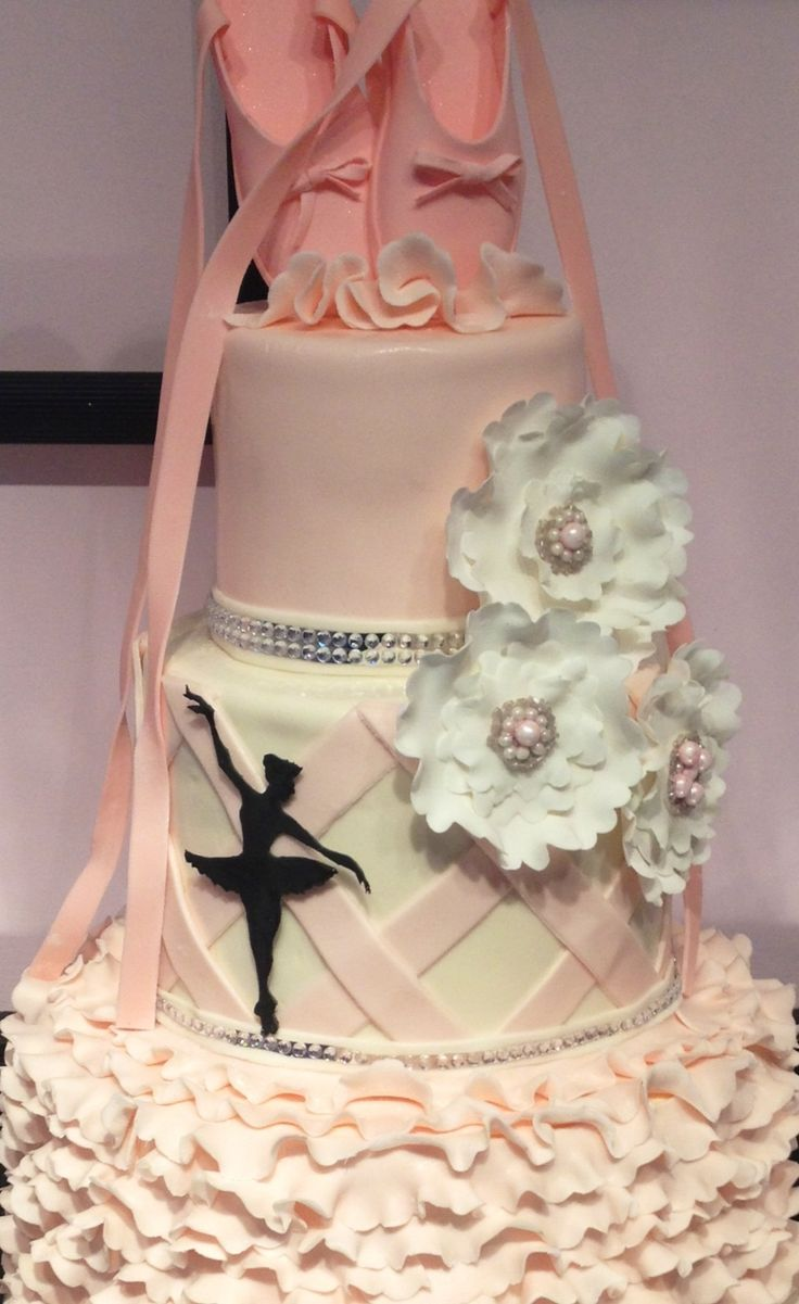 Ballerina Birthday, I would have loved this cake as a little girl!