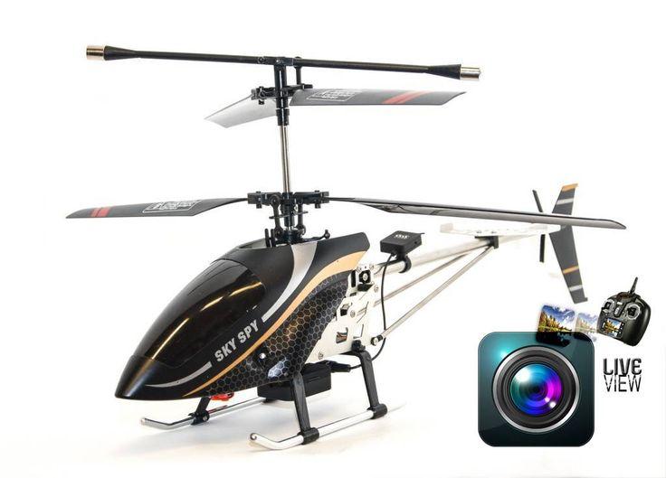 Sky Spy RC Helicopter - 2.4GHz mit LED DISPLAY + LIVE VIDEO Kamera