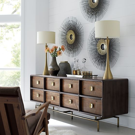 Zander 8-Drawer Dresser in Dressers & Chests | Crate and Barrel