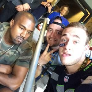 25 of Our Favorite Celebrities Taking Funny Selfies: Kanye West