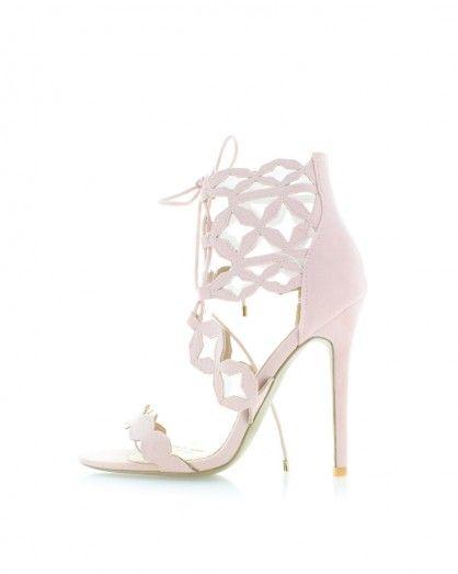 Světle růžové sandály Flume