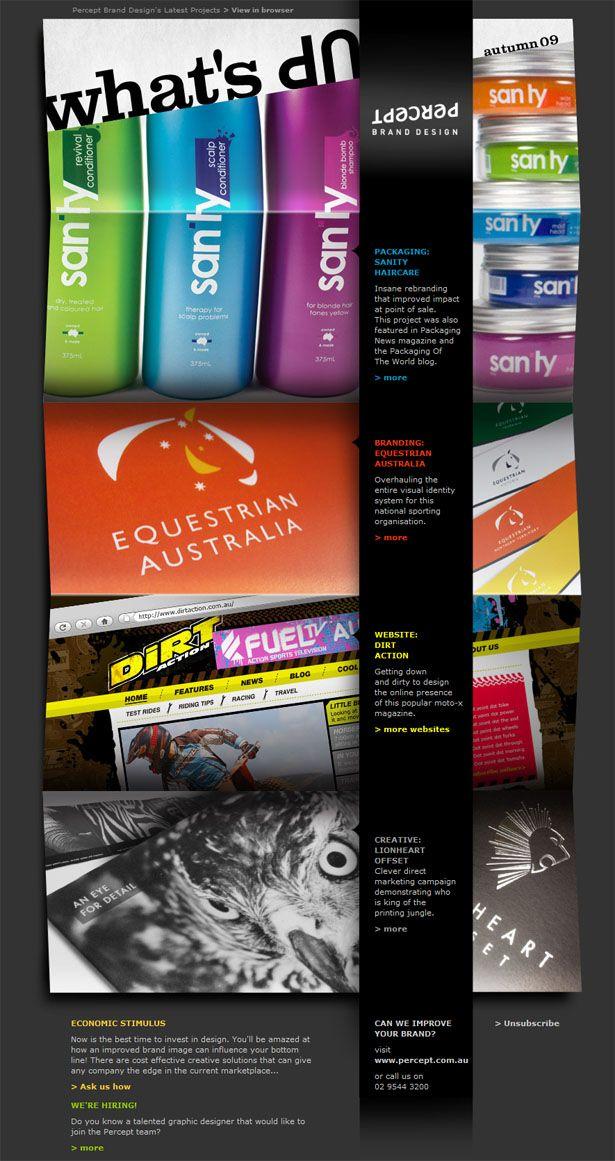 Best Newsletter Designs Images On   Email Newsletter