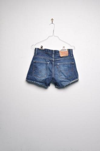 // denim shorts