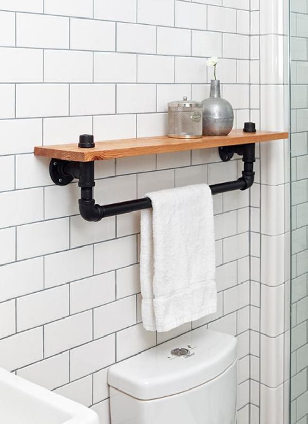 15 Industrial Pipe Rack Storage Ideas