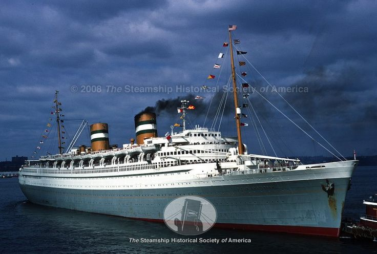 Holland American Lines_SS Nieuw Amsterdam_It was the most elegant cruise ship