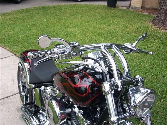 Heartland ez-deuce, attitude paint, carlini bars - Harley Davidson Forums