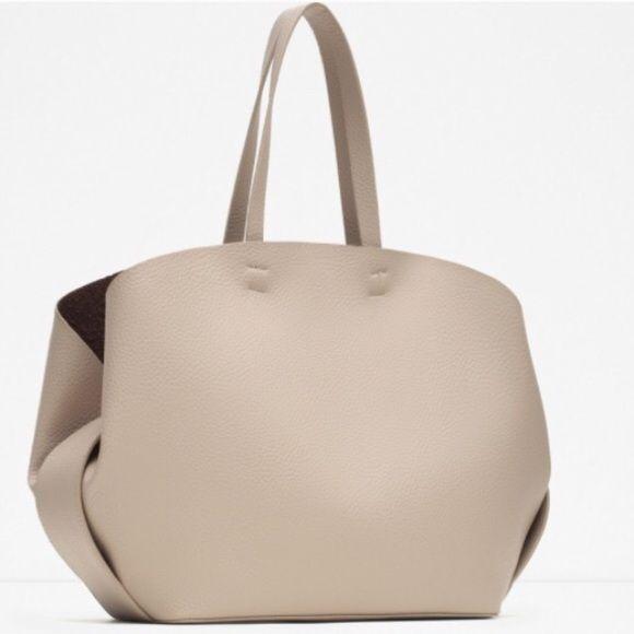 ZARA AUTHENTIC LEATHER TOTE BAG BRAND NEW ZARA AUTHENTIC LEATHER TOTE BAG BRAND NEW Zara Bags