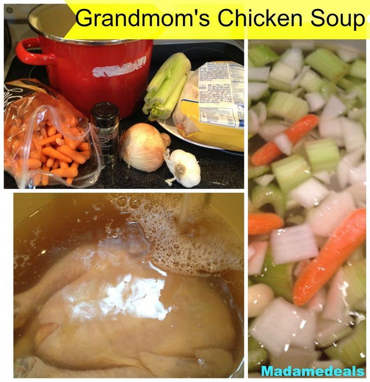 Grandmom's Chicken Soup #recipe #soup