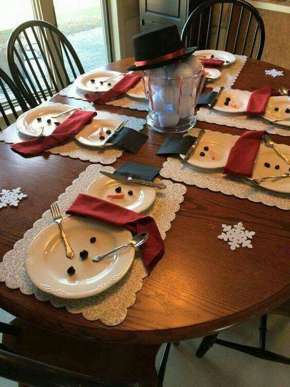 Best 25+ Christmas place setting ideas on Pinterest ...