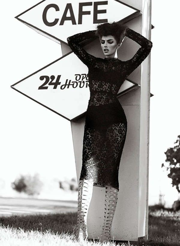 (Not the fashion too high contemporary) But the Models High end, edgy look love for editorials (imagine with tattoos and piercing or just edgy make up?)