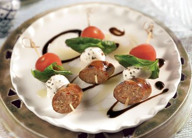 Johnsonville Italian Sausage Caprese!!! Thank you Jesus because Your Grace makes the difference!!!