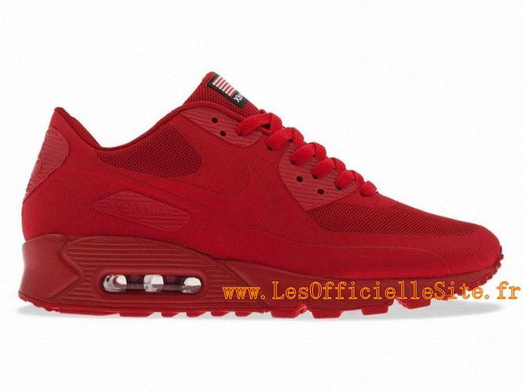 nike air max 90 femmes 803 tricot noir rouge