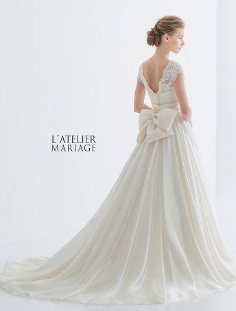 L'ATELIER MARIAGE(ラトリエマリアージュ):WHE026  レンタルウェディングドレス 大阪/東京/福岡