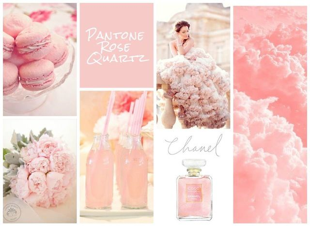 Pantone Rose Quartz Wedding | Found for you by www.astrabridal.co.nz |