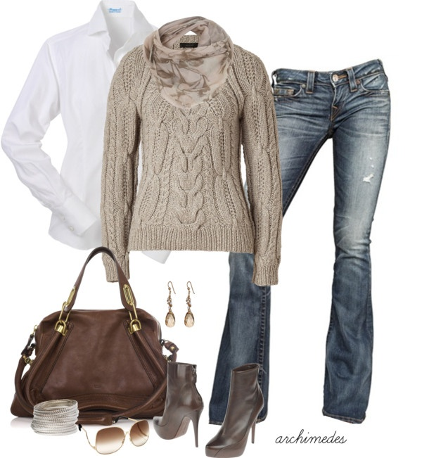 """Autumn Weekend"" by archimedes16 on Polyvore: Sweater, Casual Style, Idea, Complete Outfits, Fashion Style, Clothes Outfits, Casual Outfits, Fall Winter"