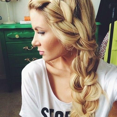 of haircuts for hair chunky side braid hairstyles for hair 6179