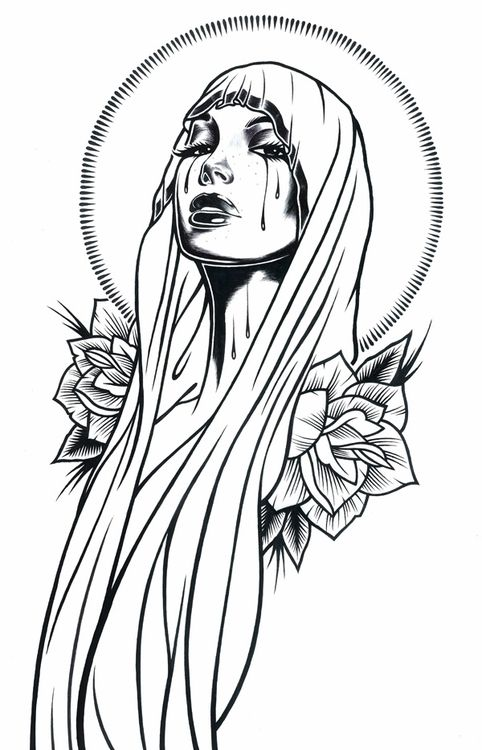 Mary #ink