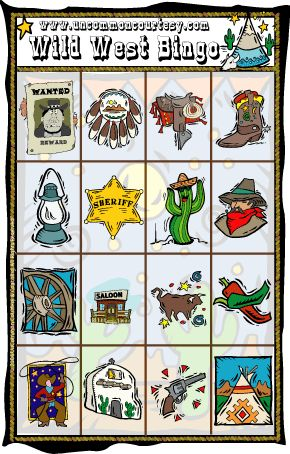 Play the Wild West Bingo game in celebration of National Barbecue Month! Downloadable for as little as $1.99