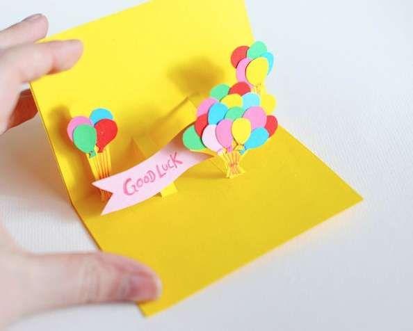 Tridimensionalit/à Idea Regalo Biglietto di Auguri Compleanno Pop-up Mamma