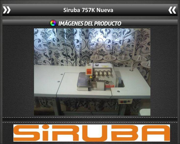 Maquina Overlock Siruba 757k Nueva - Bs. 2.600.000,00 en Mercado Libre