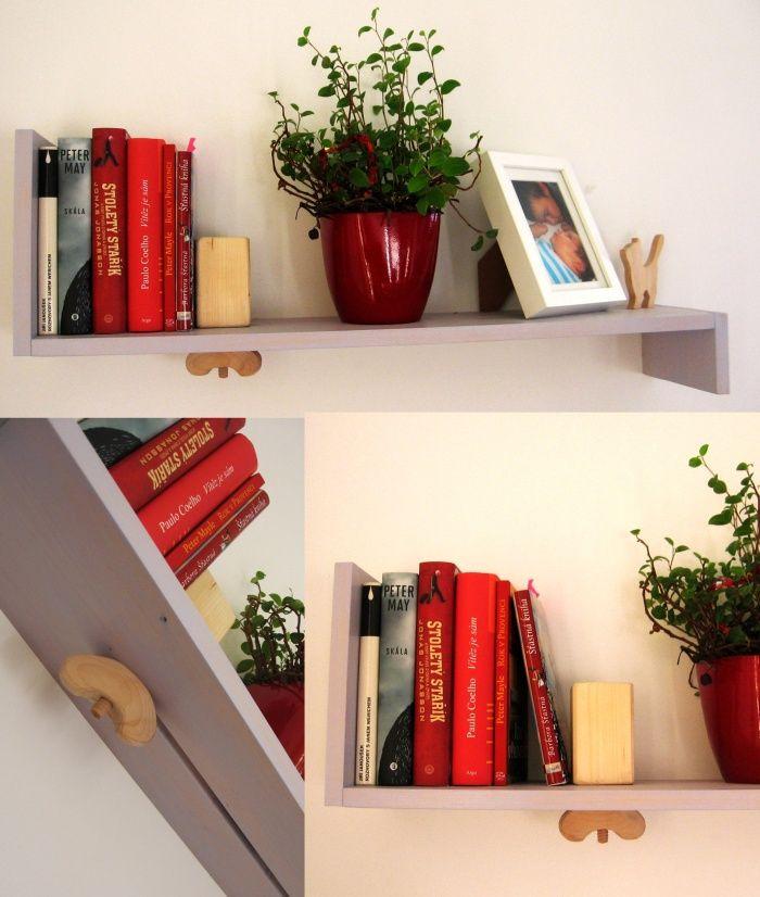Handemade bookshelf
