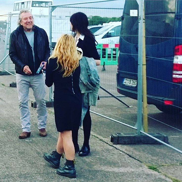 Robert Plant photographed backstage at Mello Festival in Worcestershire, 27 May 2017