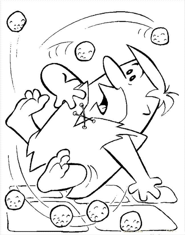 Flintstones Slip coloring picture for kids