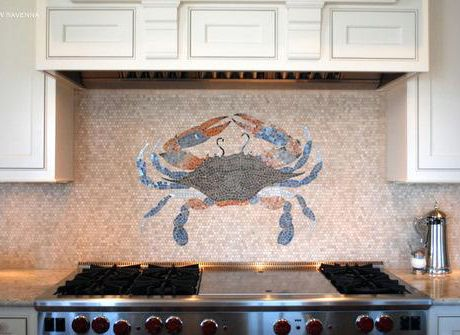 kitchen backsplash mosaic tile unique rock backsplash stove mosaic tile 5049