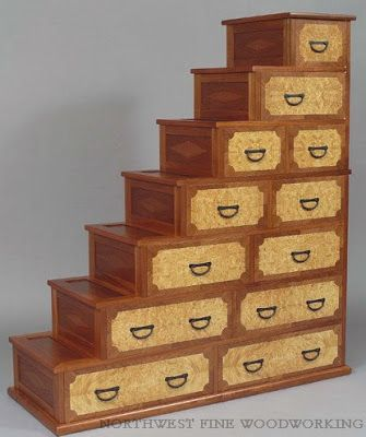 This Step Chest Comes From Woodworker Rich Soborowicz.