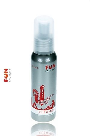 Nettoyant Sextoy et Zones Intimes Caractéristiques: - Flacon à pompe en aluminium - Contenu: 75 ml