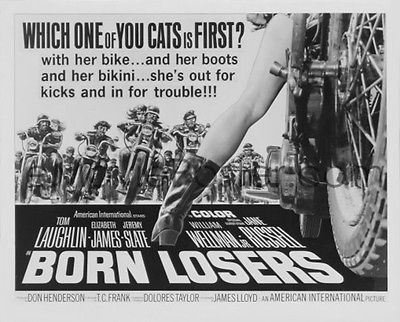 BORN LOSERS 1967 (DVD) TOM LAUGHLIN ACTION 1ST BILLY JACK -MARTIAL ARTS