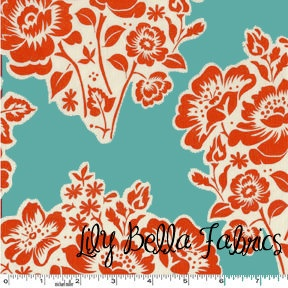 Sandi Henderson for Michael Miller  SECRET by lilybellafabrics, $4.75: Fresh Cut, Colors Pallets, Colors Combos, Fabrics Ideas, Colors Pallette, Colors Blue, Michael Miller, Fabrics Design, Cut Flowers
