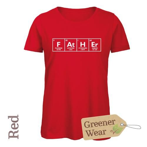 F At H Er - Chemical Element T-Shirt (Male Cut)