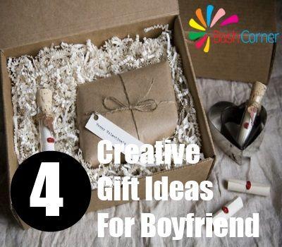 Four Creative Gift Ideas For Boyfriend