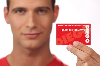Pe baza cardului de fidelitate puteți beneficia de promoţii lunare excepţionale cu reduceri de până la 50%. Aplicaţia este simplă, fără obligaţie de cumpărare! Aplicaţi acum, ca să nu rataţi nici o ocazie ►http://bit.ly/Card_de_fidelitate_Diego