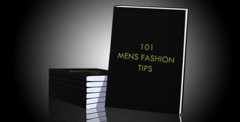 oh man, a guy with a sense of style makes my heart melt.     ..101 Men's Fashion Tips..