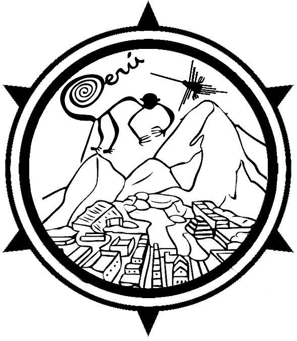 Peru Macchu Pichu, Nasca Lines Rubber Stamp for Spanish Teachers. via SpanishTeacherShop.com