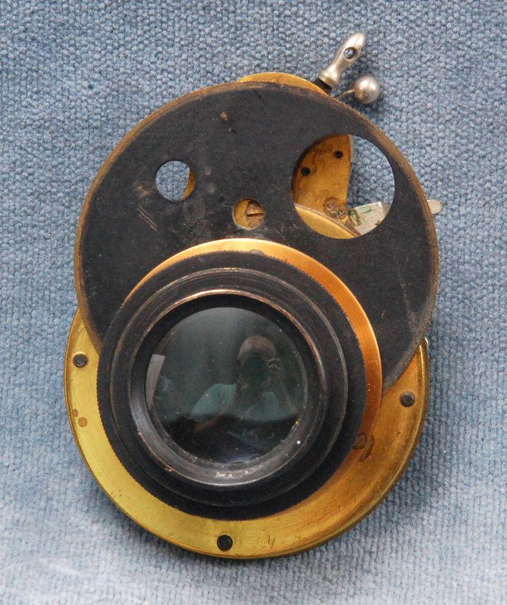 Old Brass B&L Rochester Optical Shutter