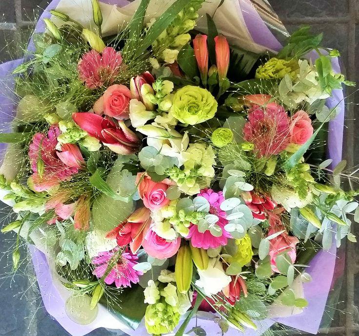 #flowers #bunch #pink #thursday