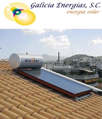 EQUIPO DE TERMOSIFON, AGUA CALIENTE CONSEGUIDA CON ENERGÍA SOLAR SIN UTILIZAR ELECTRICIDAD, NI GAS